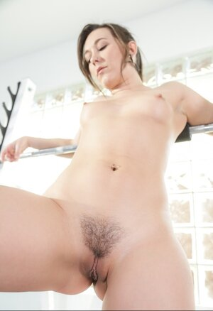 Broad with precious fuck hole is sure that naked fitness is much better
