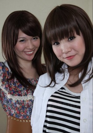 A duo Japanese cutie pies Rimu Endo and also Ueno Misaki unveil their petite breasts only